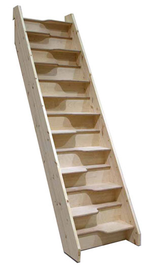 Birch 24 Spacesaver Assembled 12 Risers