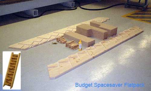 Budget Spacesaver Flatpack 12 Risers