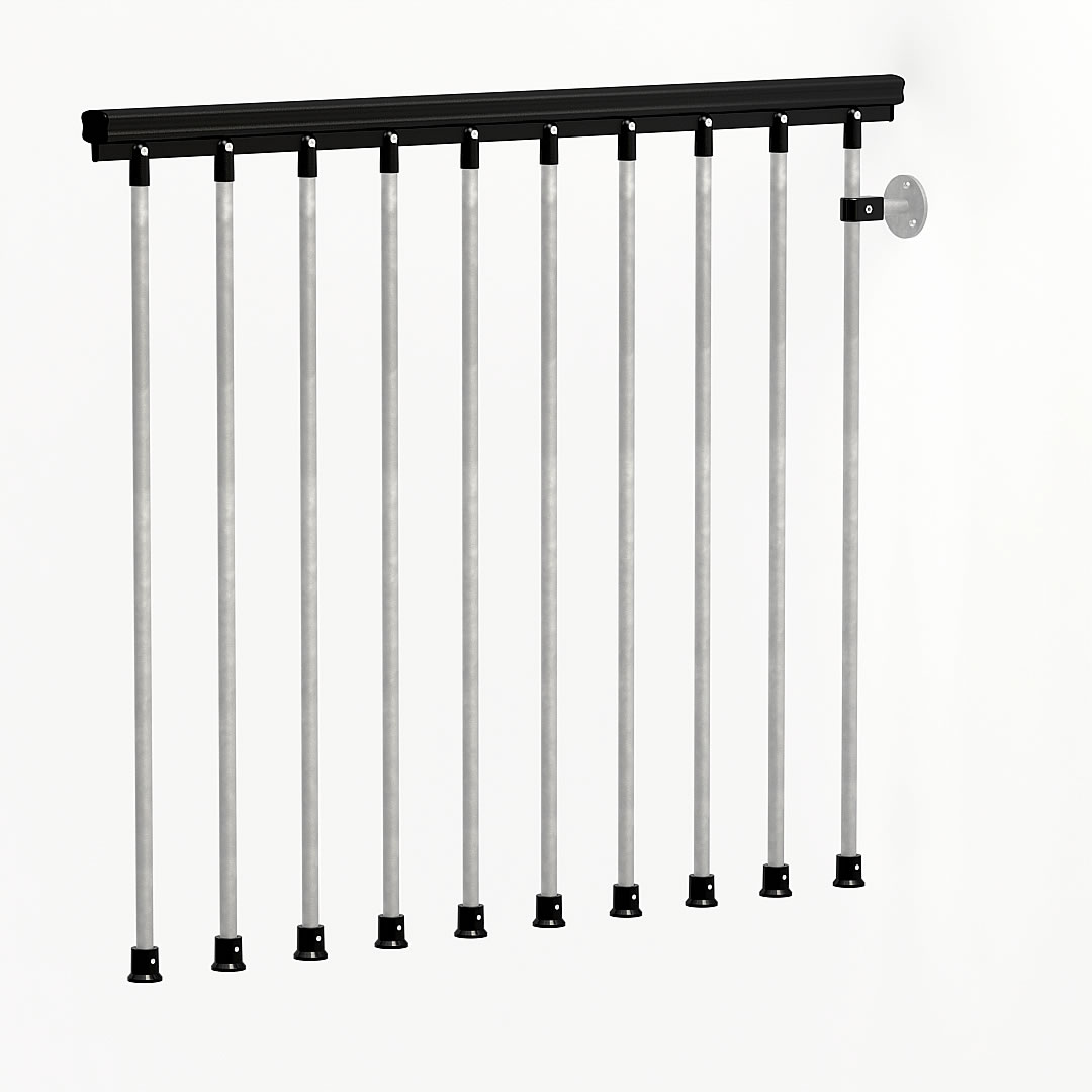 Civic Zink Landing Balustrade Pack