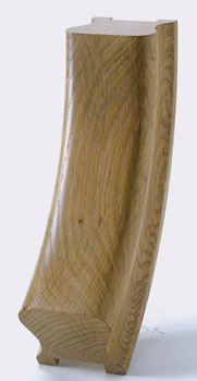 Oak HR Handrail Up Easing 32mm Groove